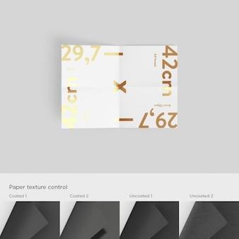 A3 modèle de papier