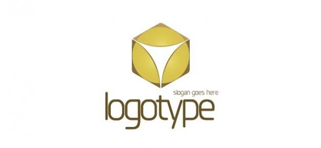 Abstrait modèle de conception de logo