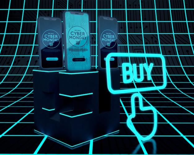 Acheter maintenant téléphones offre cyber lundi