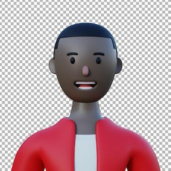 Actif de conception premium illustration de personnage 3d