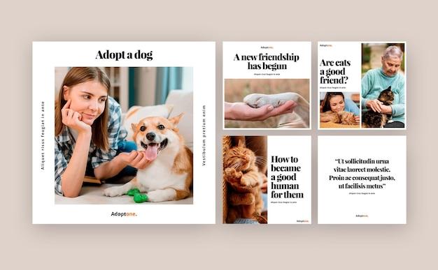 Adoption des publications sur les réseaux sociaux