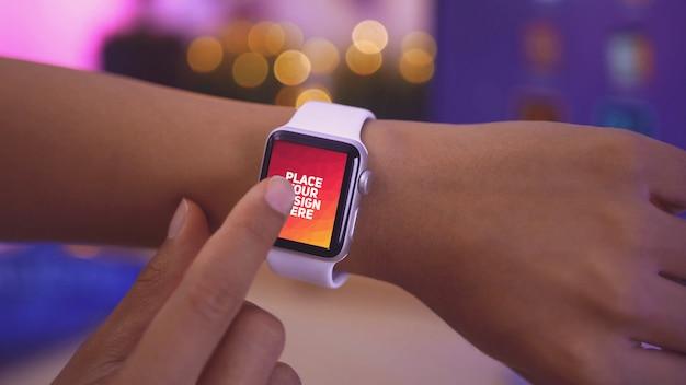 Affichage de la montre intelligente