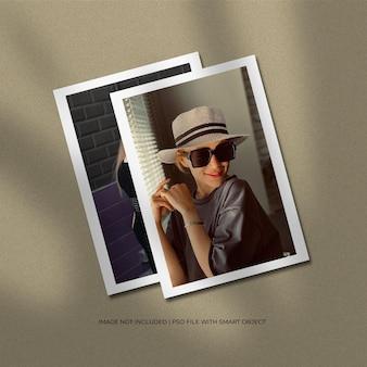 Affiche papier a4 ou maquette de cadre photo