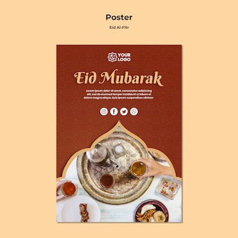 Affiche pour ramadhan kareem