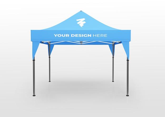 Afficher la maquette de la tente