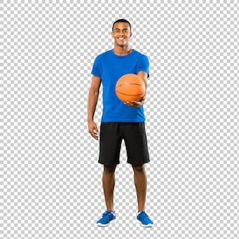 Afro-américain joueur de basket-ball