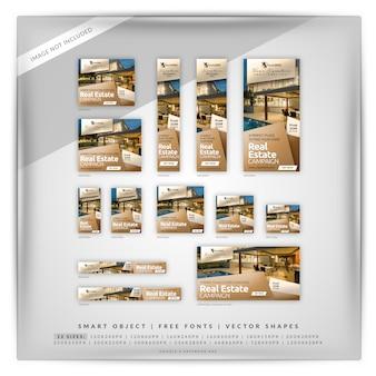 Annonces immobilières cube google et facebook