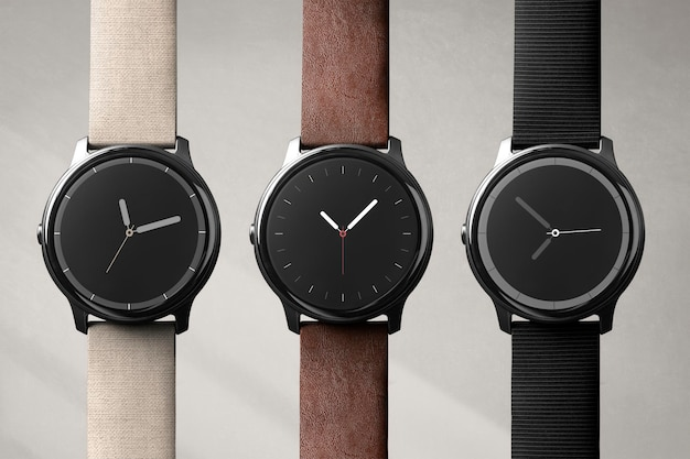 Appareil numérique de maquette d'écran smartwatch