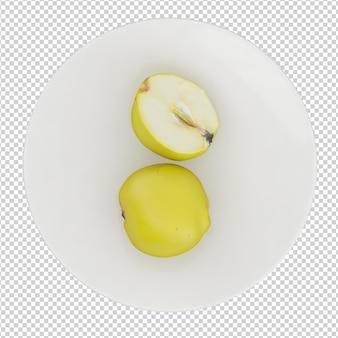 Apple isométrique