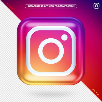 Application 3d instagram