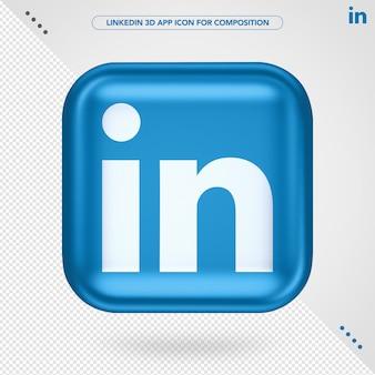 Application linkedin 3d