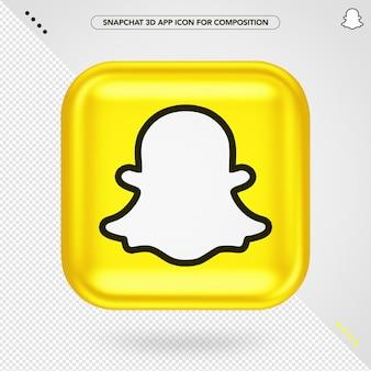 Application snapchat 3d