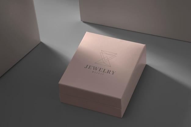 Arrangement d'emballage de bijoux luxueux