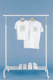 Arrangement de maquette de t-shirt pour la fête des pères