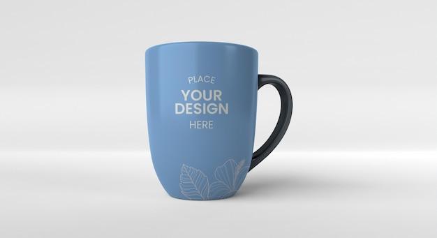 Arrangement minimal de tasse à café