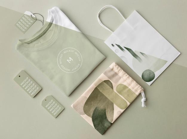 Arrangement de produits de marchandises abstraits