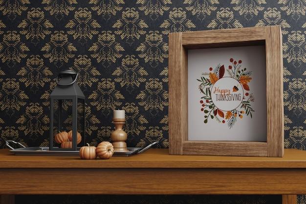 Arrangements de célébration de thanksgiving