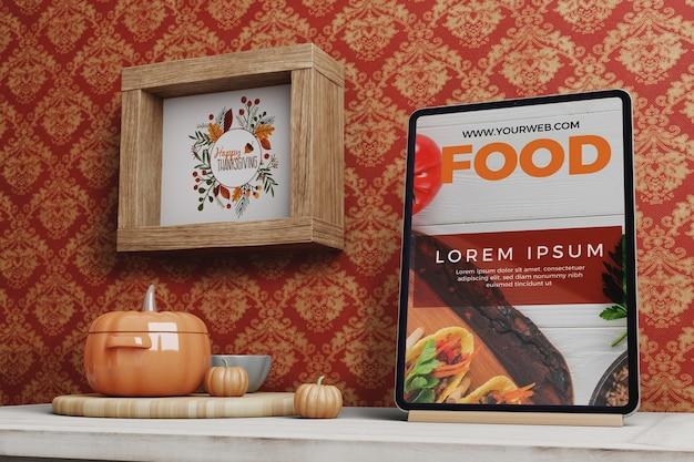 Arrangements d'installation le jour de thanksgiving