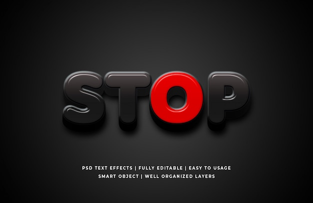 Arrêter l'effet de style de texte