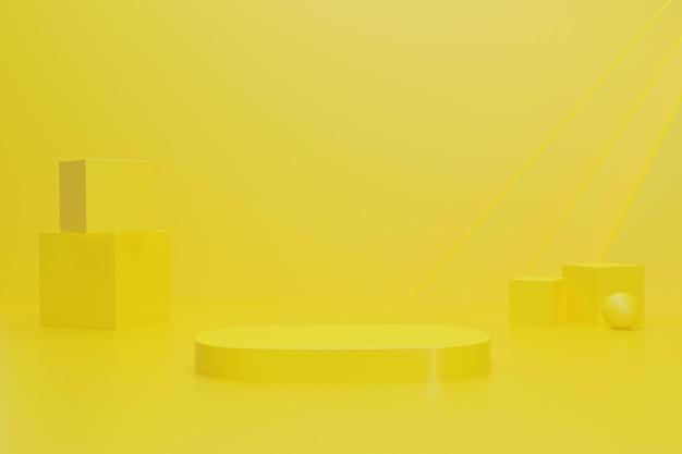 Arrière-plan de rendu 3d pour l'affichage du produit