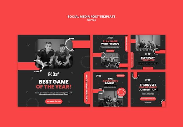Articles sur les réseaux sociaux sur les jeux vidéo