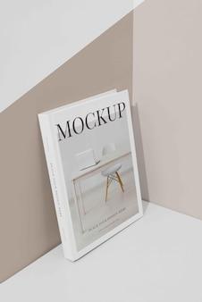Assortiment de couverture de livre maquette