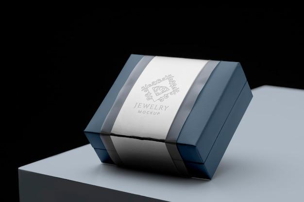 Assortiment d'emballages de bijoux de luxe