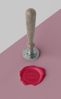 Assortiment de maquette de sceau pour enveloppe