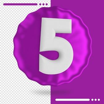 Ballon et rendu 3d numéro 5