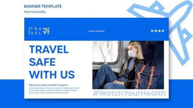 Bannière pour réservation de voyage