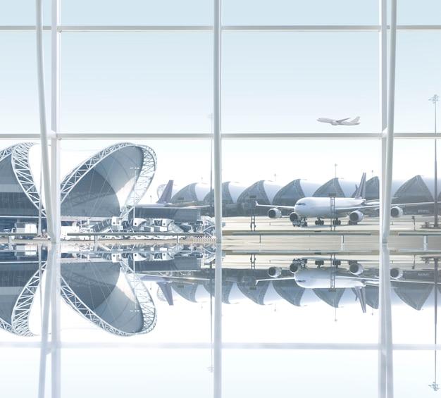 Bâtiment de l'aéroport