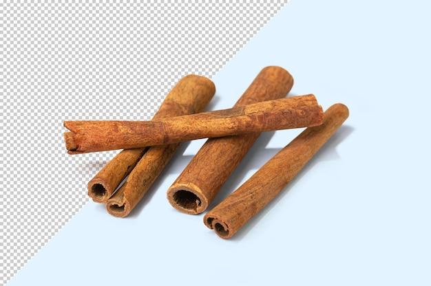 Bâton de cannelle sur fond modifiable