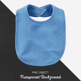 Bavoir bleu transparent pour bébé ou enfant