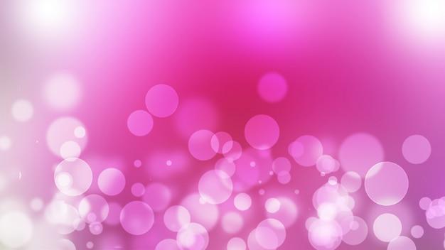 Beau résumé rose floue avec effet bokeh pour fond de printemps ou d'été et beau fond