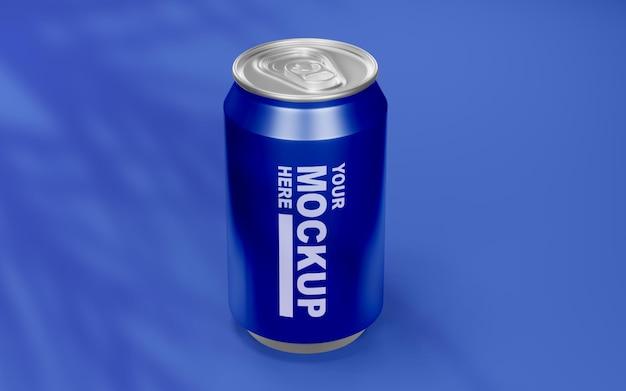 Belle boisson réaliste peut maquette