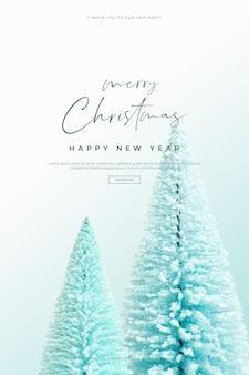 Belle carte de noël et bonne année