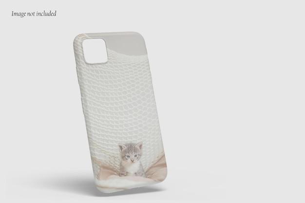 Belle conception de maquette de téléphone cas isolé