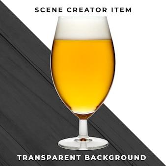 Bière transparente psd