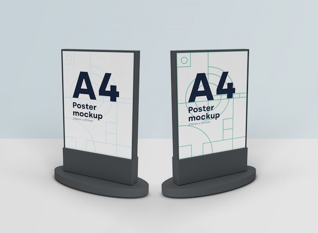 Billboards mockups scene 3d