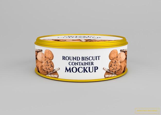 Biscuit arrondi peut maquette