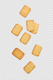 Biscuits de biscuit tombant