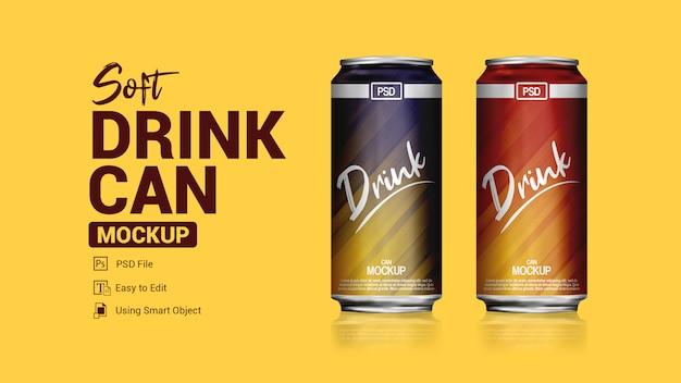 La boisson gazeuse peut être une maquette