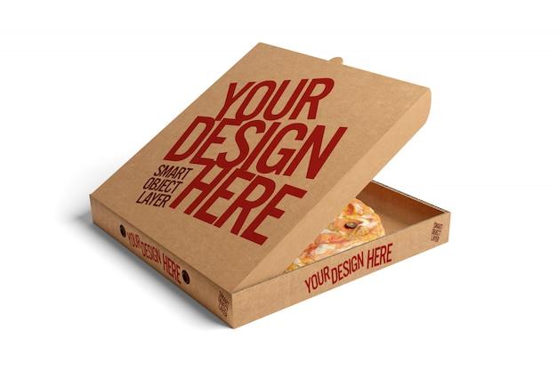 Boîte à pizza maquette