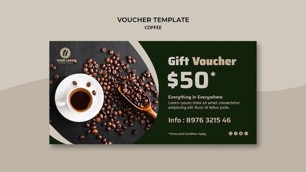 Bon cadeau café