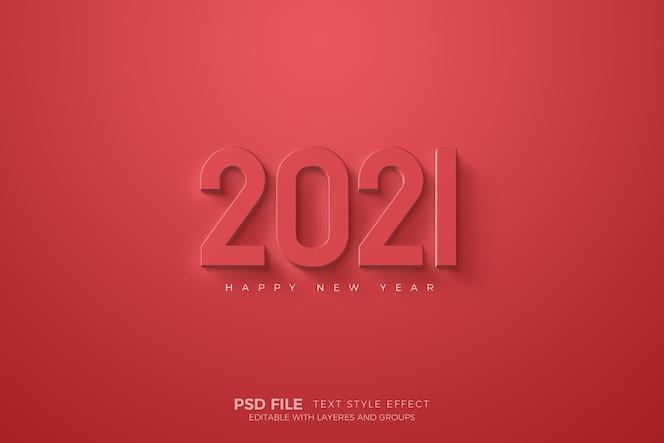 bonne année avec modèle de nombres rouges
