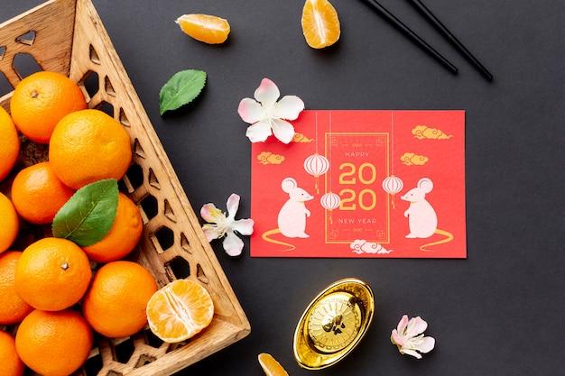 Bonne maquette du nouvel an chinois