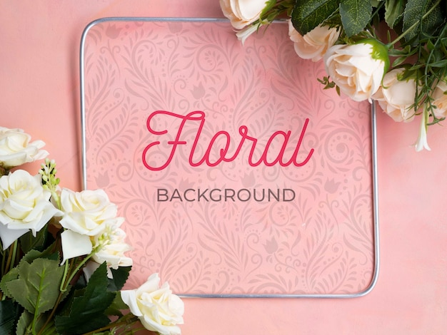 Bouquet de fleurs en fleurs maquette