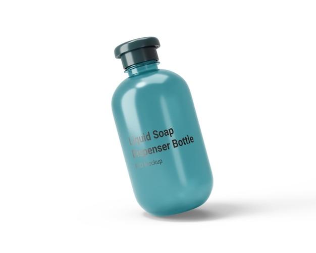 Bouteille de distributeur de savon liquide mocku