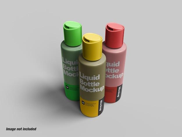 Bouteille liquide pour maquette de savon ou de cosmétiques