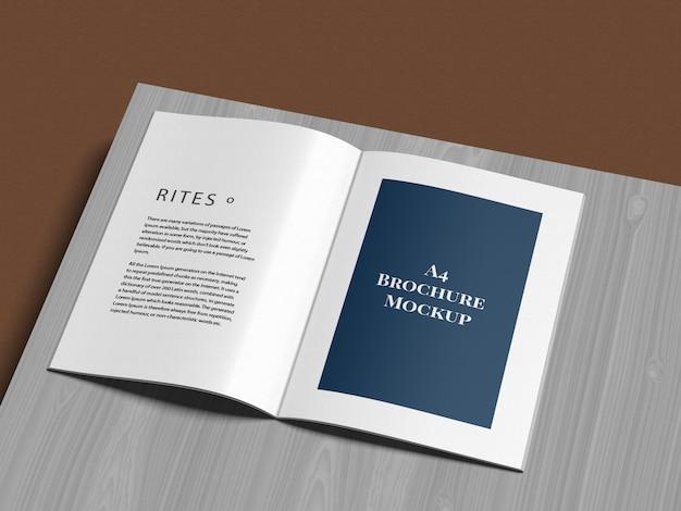 Brochure A4 Maquette Maquette PSD Premium